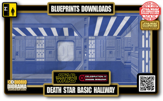 TUTORIALS • BLUEPRINTS • DEATH STAR BASIC HALLWAY 2020