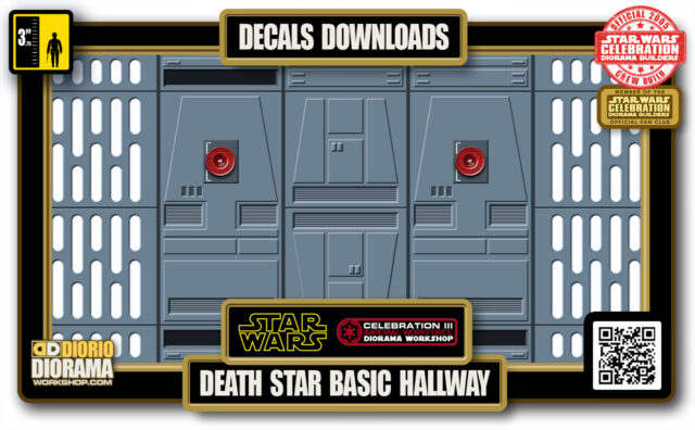 TUTORIALS • DECALS • DEATH STAR • BASIC HALLWAY 2020