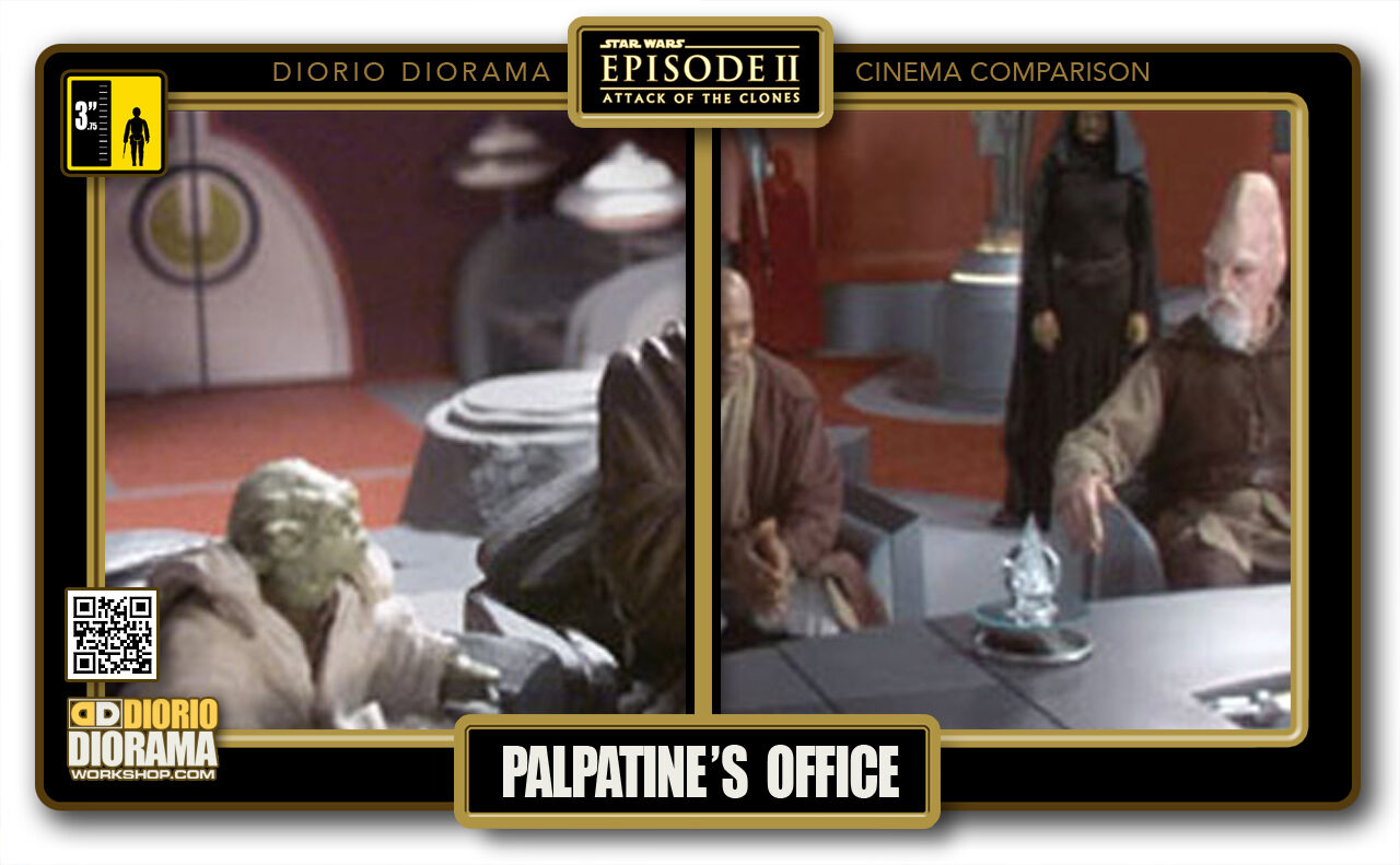 DIORIO DIORAMA • CINEMA COMPARISON • PALPATINE'S OFFICE