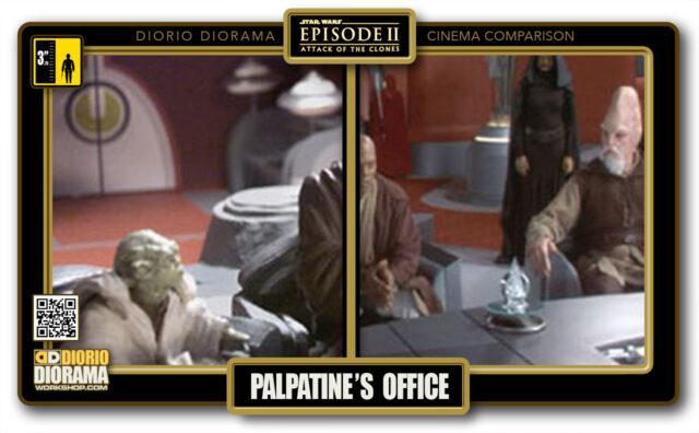 DIORIO DIORAMA • CINEMA COMPARISON • PALPATINE'S OFFICE