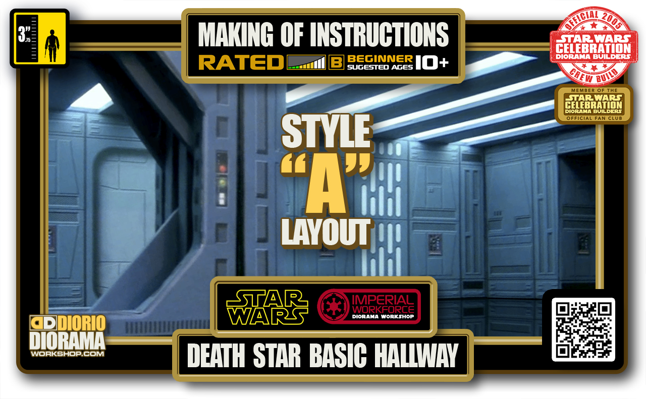 TUTORIALS • MAKING OF • DEATH STAR BASIC HALLWAY 2020 • STYLE A