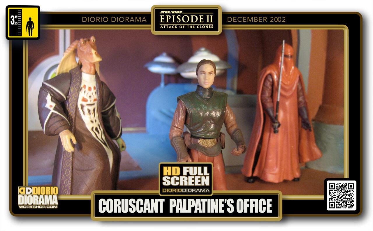 DIORIO DIORAMAS • HD DIORAMA • CORUSCANT • PALPATINE'S OFFICE