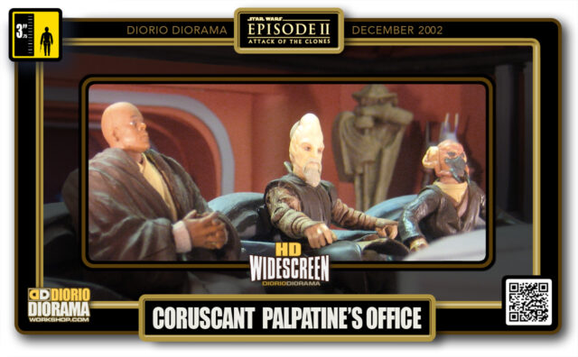 DIORIO DIORAMAS • HD WIDECREEN • CORUSCANT • PALPATINE'S OFFICE