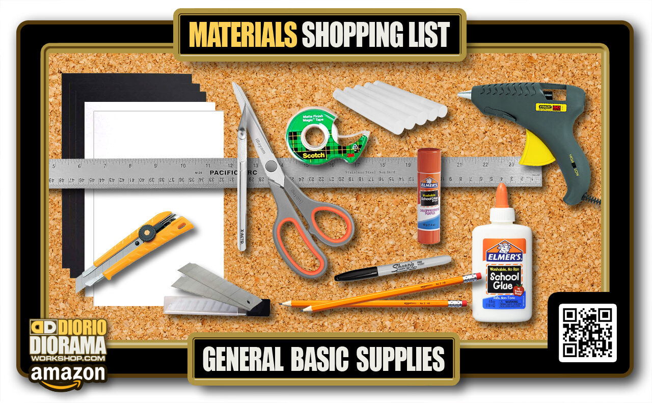 2020 MASTER > TUTORIAL • MATERIALS LIST • GENERAL BASIC SUPPLIES