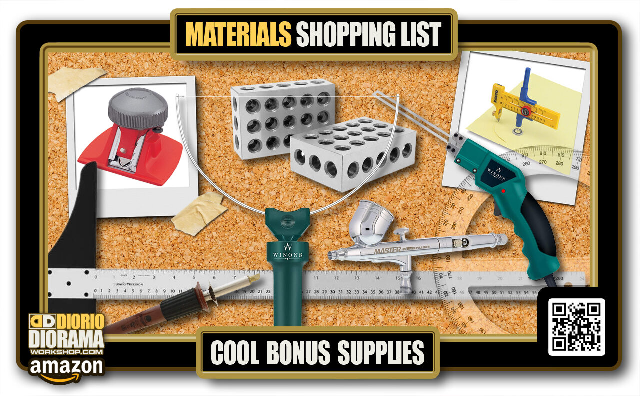2020 MASTER > TUTORIAL • MATERIALS LIST • COOL BONUS SUPPLIES
