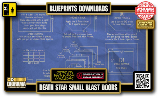 TUTORIALS • BLUEPRINTS • DEATH STAR • SMALL BLAST DOOR 2021