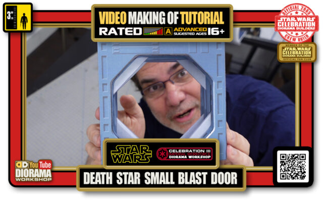YOUTUBE MAKING OF • STAR WARS EPISODE IV • DEATH STAR SMALL BLAST DOOR