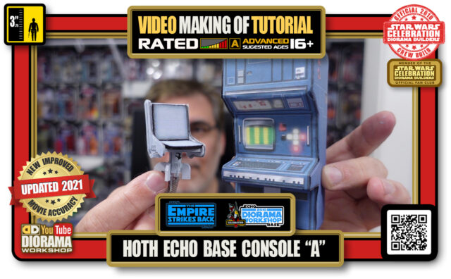 """YOUTUBE MAKING OF • STAR WARS EPISODE V • HOTH ECHO BASE CONSOLE """"A"""""""