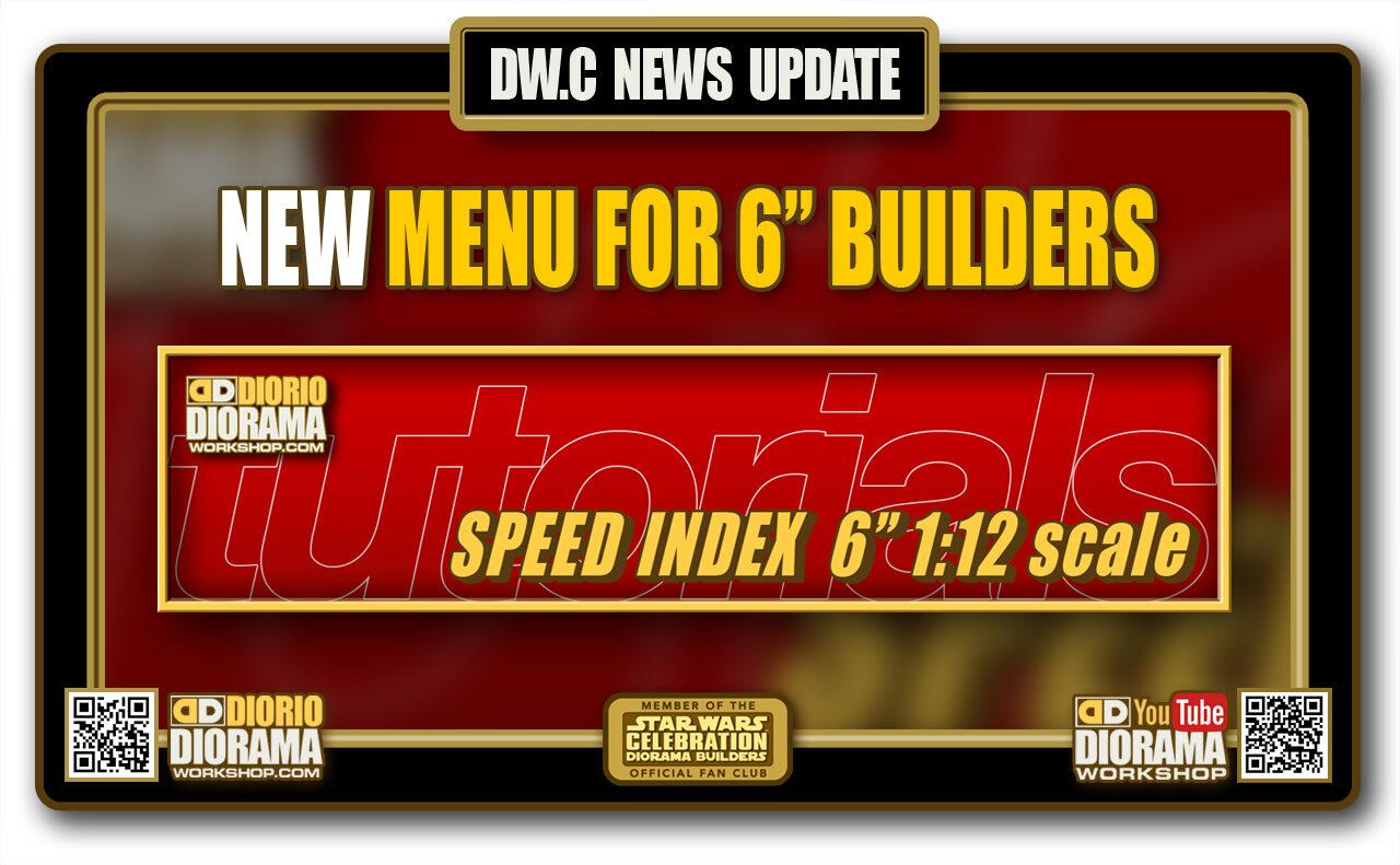 SPEED INDEX 6″ 1:12 Scale