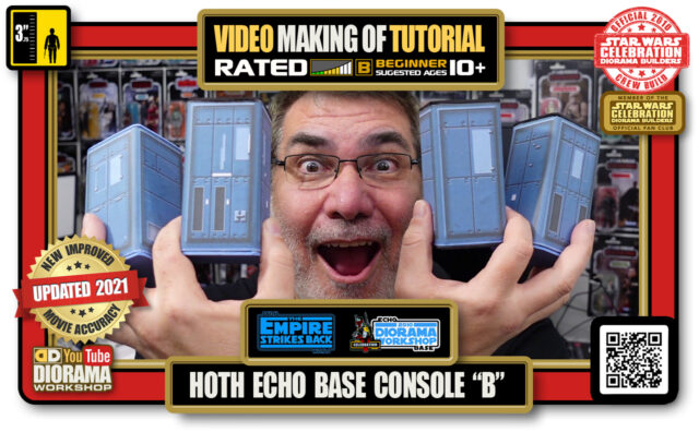 """YOUTUBE MAKING OF • STAR WARS EPISODE V • HOTH ECHO BASE CONSOLE """"B"""""""
