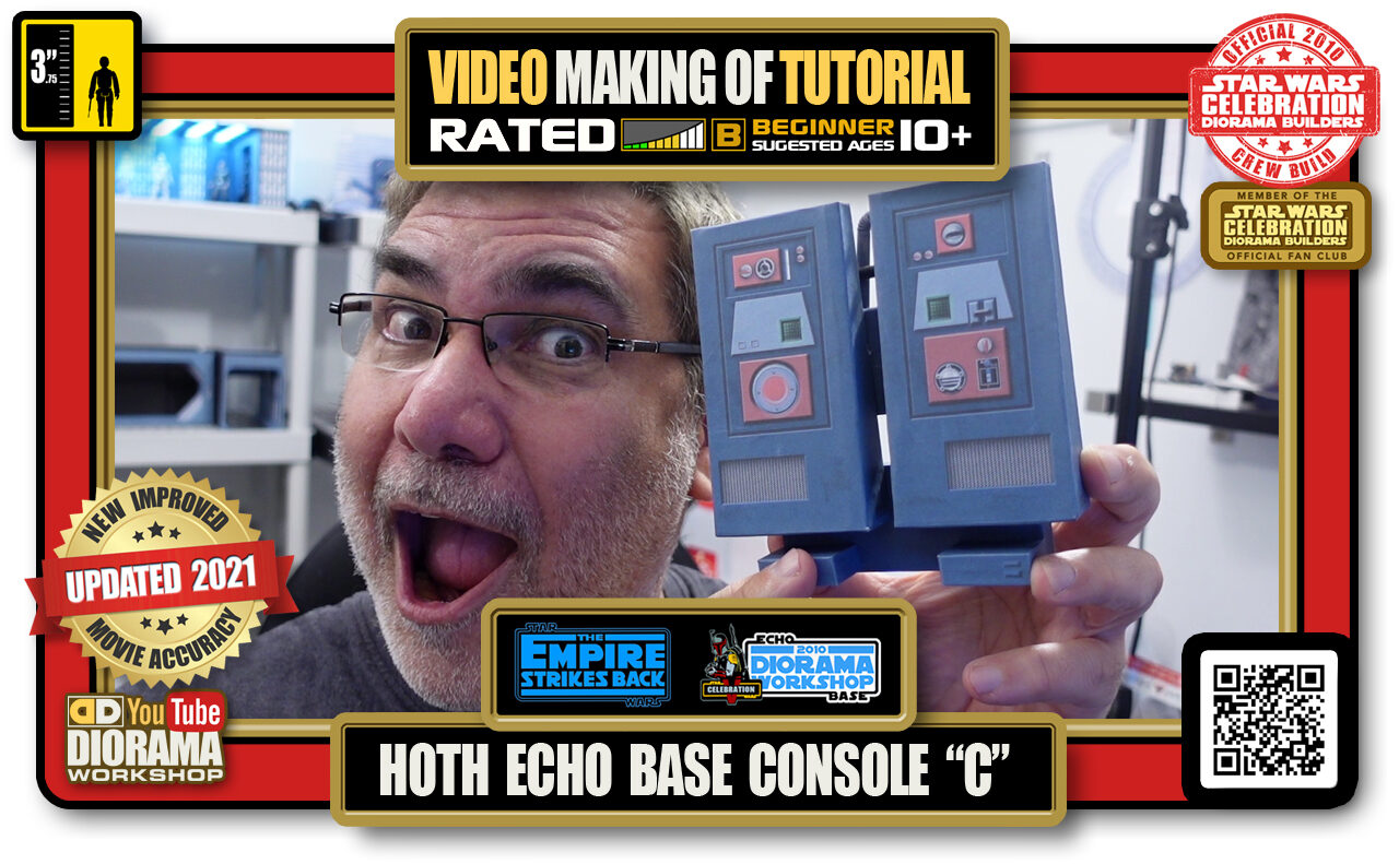 """YOUTUBE MAKING OF • STAR WARS EPISODE V • HOTH ECHO BASE CONSOLE """"C"""""""